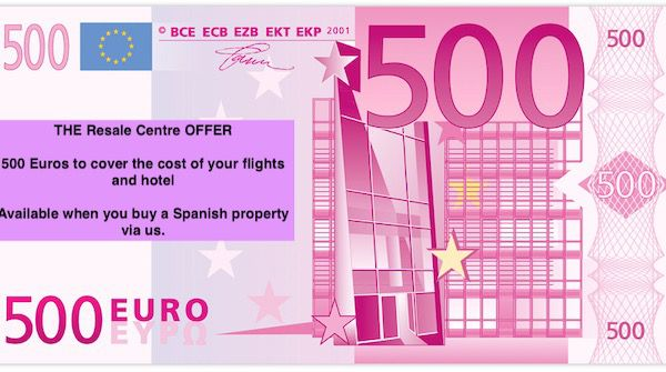 500 Euros Offer - Flights and Hotel.