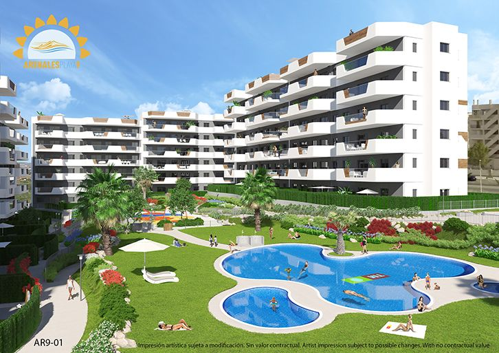New Build - Apartments - Gran Alacant